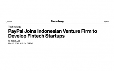 PayPal and Alpha JWC Ventures Collaborate to Provide Access to US$5 Million in Funding to FinTech Startups in SEA