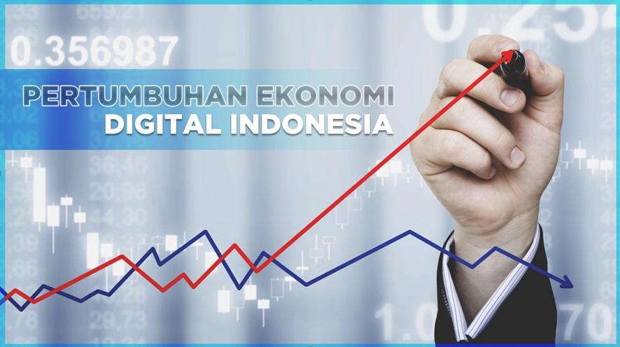 Pertumbuhan Ekonomi Digital Indonesia Menjadi yang Paling Pesat di ASEAN
