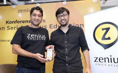 Startup Edukasi Zenius Mendapatkan Pendanaan Pra-Seri B dari Alpha JWC Ventures dan OpenSpace Ventures