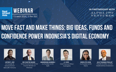 DSA Webinar Transcript: Big Ideas, Funds and Confidence Power Indonesia's Digital Economy