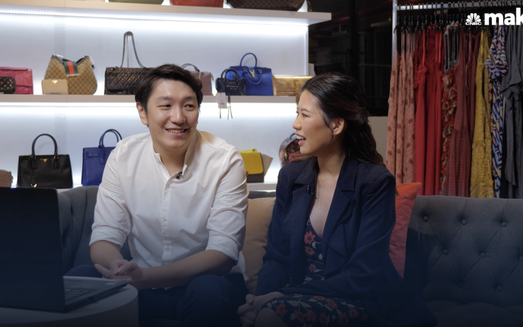 How this 32-year-old couple is redressing the multibillion-dollar fashion rental industry