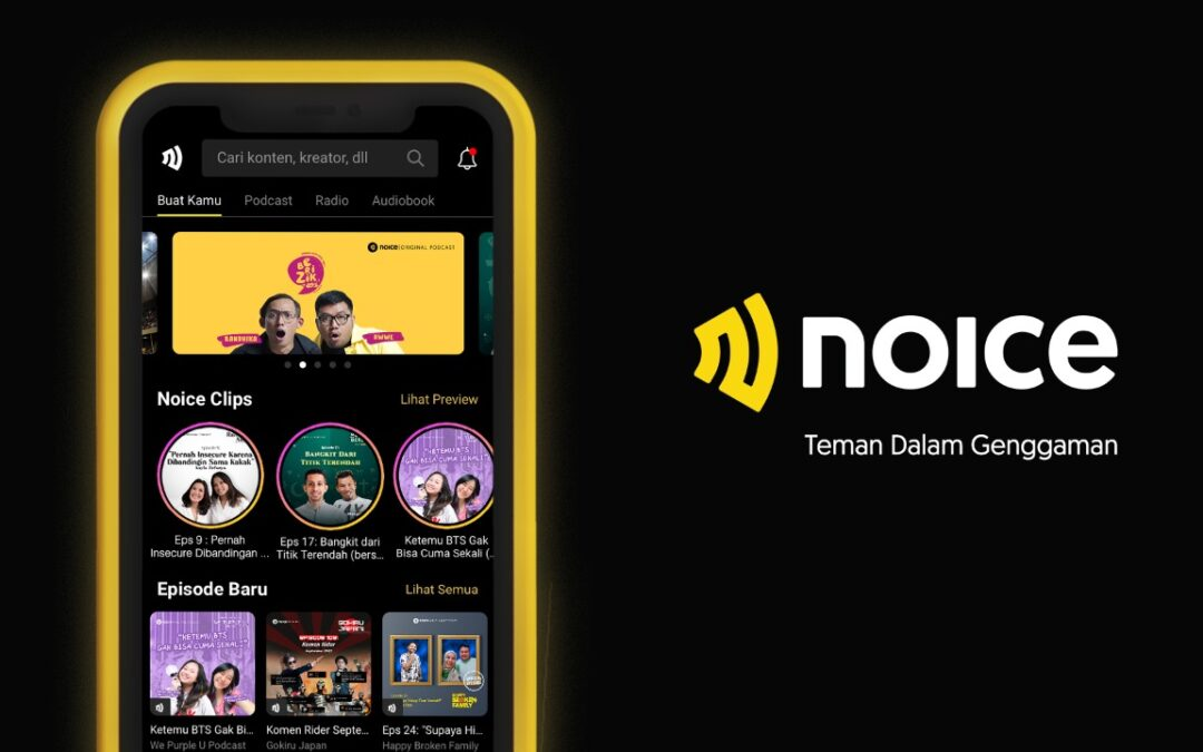 Indonesian Audio App NOICE Raises 7-figure Pre-Series A Funding from Alpha JWC Ventures and Go-Ventures